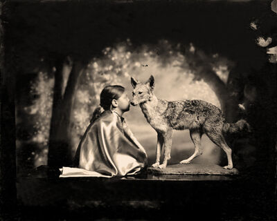 Keith Carter, 'Conversation with a Coyote', 2012