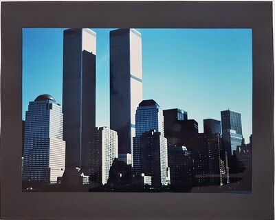 Wolff Buchholz, 'New York - World Trade Center', 1990