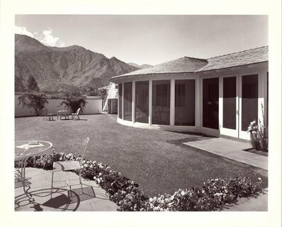Julius Shulman, 'The Rosenfield Residence. Palm Springs, California. ', 99