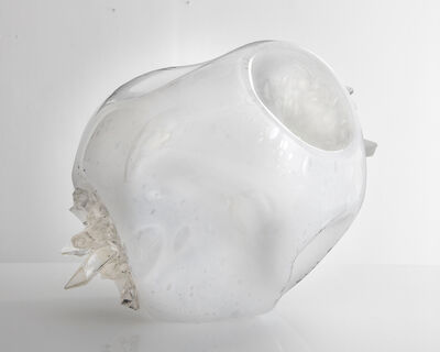 Jeff Zimmerman, 'Unique hand-blown Crystal Cave vessel', 2015