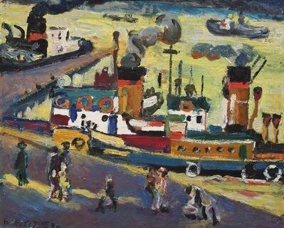 Boris Chetkov, 'Port of Arkhangelsk', 1957