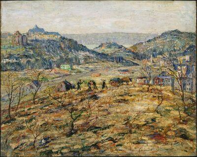 Ernest Lawson, 'City Suburbs', ca. 1914