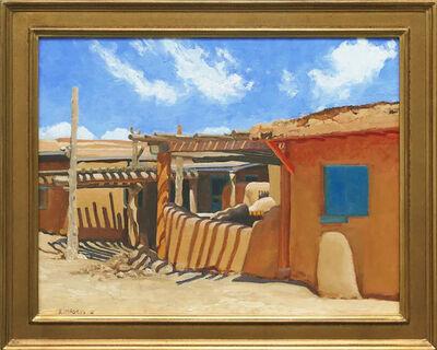 Stephen Magsig, 'Taos Pueblo Shadows', 2018