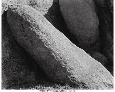 Edward Weston, 'Mojave Desert Rocks', 1928