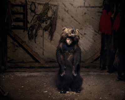 Tamas Dezso, 'Ciprian the Bear Dancer (Salatruc, East Romania)', 2013