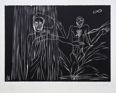 Mimmo Paladino, 'Terra Tonda Africana No 1', 1986