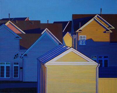 John Aquilino, 'Yellow Garages', 2011