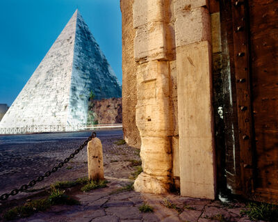 Shimon Attie, 'At Pyramide', 2003