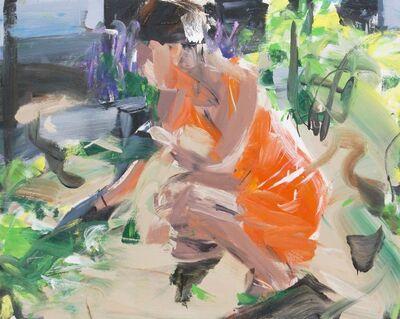 Alireza Varzandeh, 'Juliane im Garten', 2020