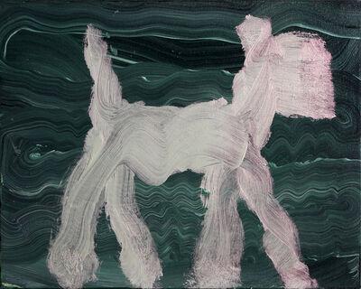 Peter Mayer, 'Dog Painting 11', 1990