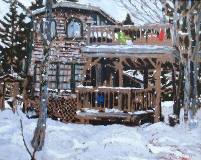 Glenn Hall, 'My Cabin Winter Snow', 2018