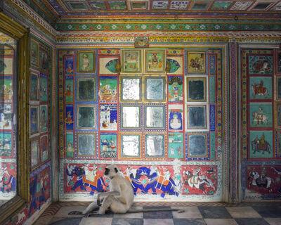 Karen Knorr, 'Hanuman Reflects on Samsara, Junha Mahal, Dungarpur', 2014