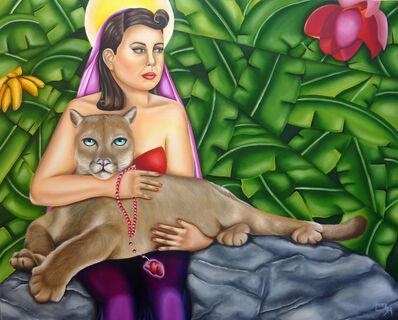 Ines Mora, 'Madonna and child', 2018