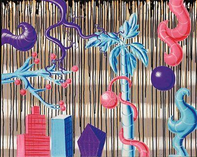 Kenny Scharf, 'Acid Rain'