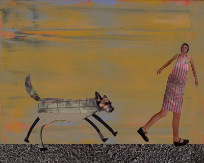 Holly Roberts, 'Woman Being Chased', 2016