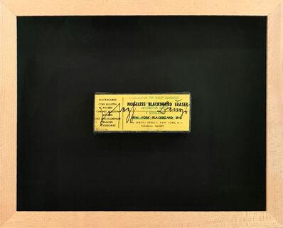 Joseph Beuys, 'Noiseless Blackboard Eraser (Geräuschloser Schultafel-Reiniger)', 1974