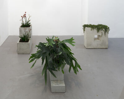 Isa Melsheimer, 'We are concrete, We are bodies, We have sex, We are neoretroactive, We are relative VII', 2018