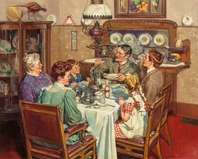 Harold Anderson, 'A Good Table is an American Tradition', 1940