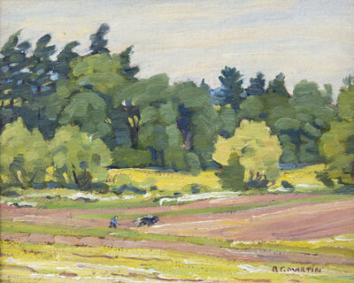 Bernice Fenwick Martin, 'Summer Ploughing'
