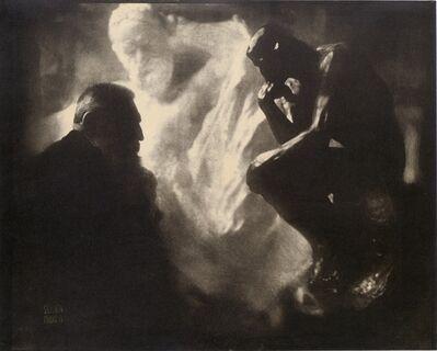 Edward Steichen, 'Rodin—The Thinker', 1902