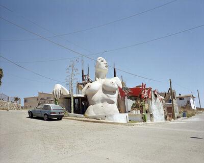 Yvonne Venegas, 'Desde la línea (Casa Mujer)', 2003