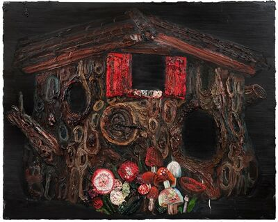 Allison Schulnik, 'Hollow', 2010