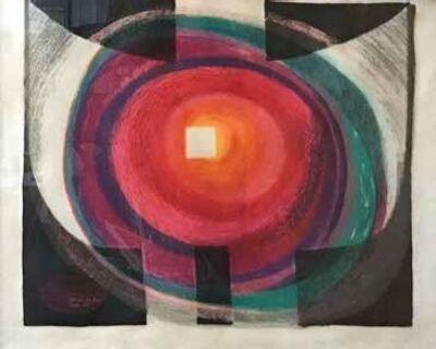 Pierre Székely, 'GENESE DU FEU', 1983