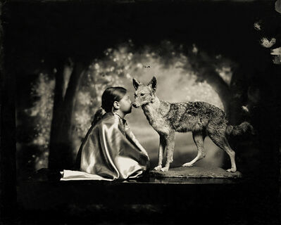 Keith Carter, 'Conversation with a Coyote', 2013