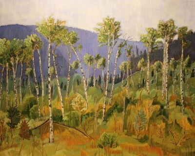 Tom Gale, 'Cherry Ridge Through the Trees', 2014