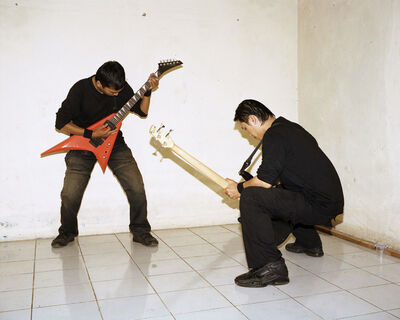 Jörg Brüggemann, 'Sofyan and Oki Death Vomit Unlogic Scream 3, Salatiga, Indonesia February 2010', 2010