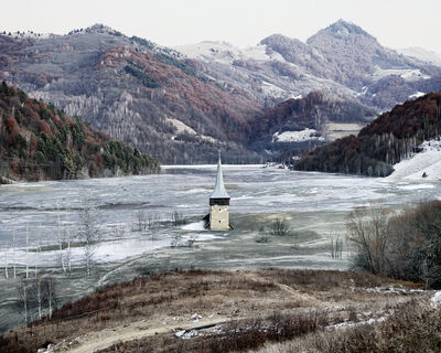 Tamas Dezso, 'The Flooded Village of Geamana (Geamana, Central Romania)', 2012