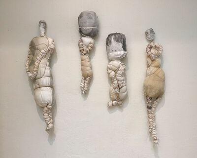 Liz Steketee, 'Wrapped Family', 2021