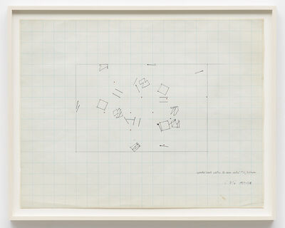 Barry Le Va, 'Repeated Events Within the Same Context #2/3 phases', 1967-68