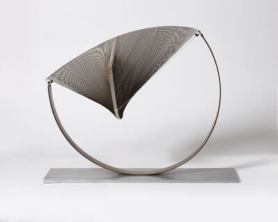 Naum Gabo, 'Construction in Space: Suspended, 1957/64, altered c.1966', 1957-1966