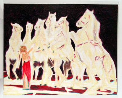 Bruno Pacheco, 'Diana and the seven white horses', 2004