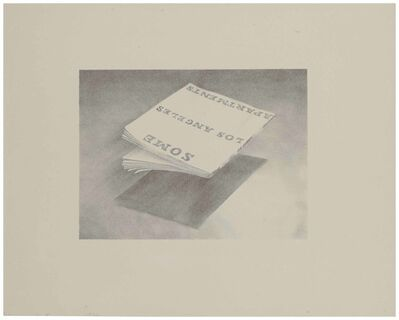 Ed Ruscha, 'Some Los Angeles Apartments, from Book Covers', 1970