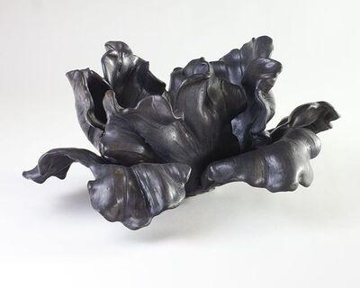 Matthew Solomon, 'Large Black Tulip Sculpture', United States-2019