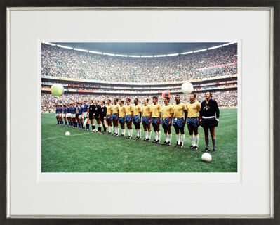 Pelé, 'Team Line-Up - World Cup Final, 1970', 2016
