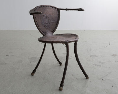 "Babacar Niang, '""Awa"" Sculptural Side Chair', 2014"