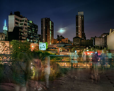Matthew Pillsbury, 'Super Moon on the High Line', 2015