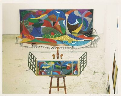 David Hockney, 'The studio, March 28th', 1995