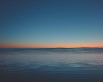 David Ellingsen, 'The Gloaming No. 4 (Pacific Rim National Park)', 2020