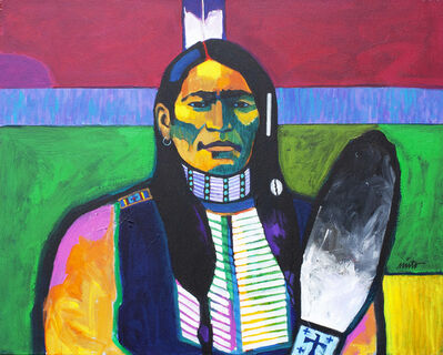 John Nieto, 'Cheyenne Scout', ca. 2018