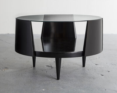 Eisler, 'Round coffee table', 1950s