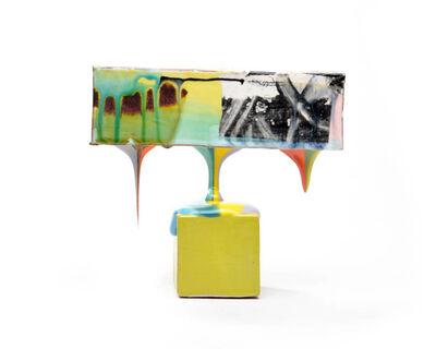 Lauren Mabry, 'Molten Veil (Lime block)', 2019