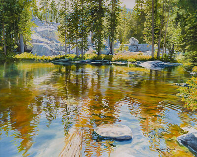Michelle Courier, 'Shirley Lake Summer', 2016