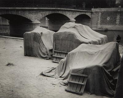André Kertész, 'Behind Notre Dame, Paris', 1925