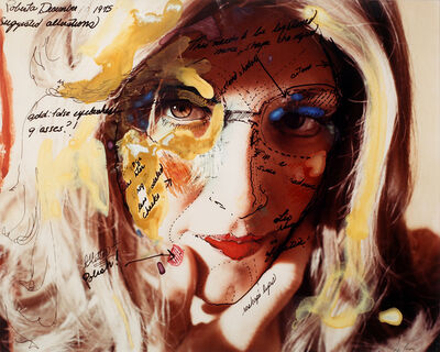 Lynn Hershman Leeson, 'Roberta's Construction Chart #2 (Suggested Alterations)', 1975