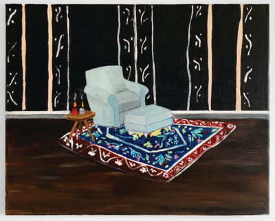 Polly Shindler, 'Blue Chair in Parlor ', 2018