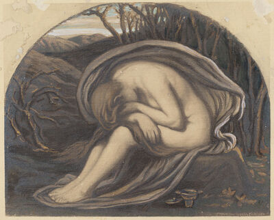 Elihu Vedder, 'The Magdalene', ca. 1884
